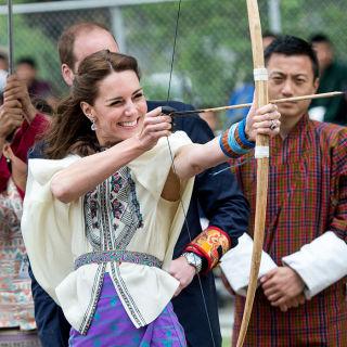 集结了所有凯特王妃的不丹行穿搭!
